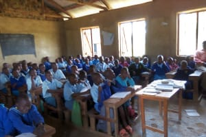 The Water Project: Shivanga Primary School -  Students In Class