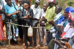 The Water Project: Mbakoni Community -  Handwashing Training