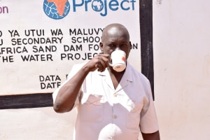 The Water Project: Ikaasu Secondary School -  Principal Kyengo Michael
