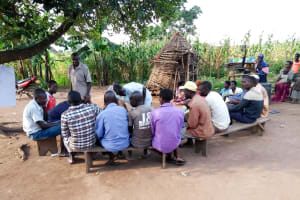 The Water Project: Alimugonza Community -  Group Discussions