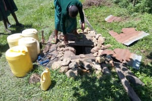 The Water Project: Mavusi Primary School -  Fetching Water