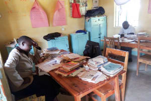 The Water Project: Shivanga Primary School -  Staff Office