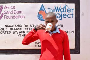 The Water Project: Ikaasu Secondary School -  Boniface Mutinda