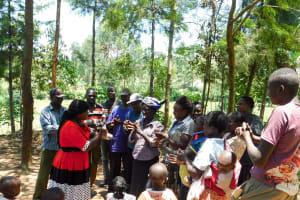 The Water Project: Chegulo Community, Yeni Spring -  Handwashing Training