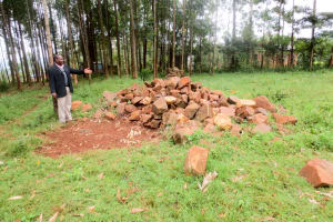 The Water Project: Viyalo Primary School -  Stones Gathered For The Artisan