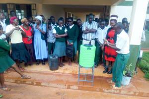The Water Project: Kwirenyi Secondary School -  Handwashing Training