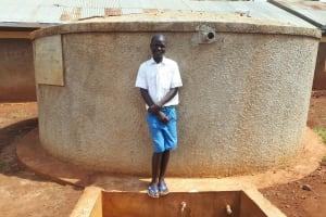 The Water Project: Mwiyenga Primary School -  Protus Musonye