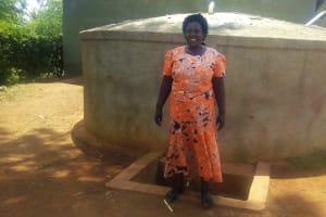 The Water Project: Esibuye Primary School -  Headmistress Esther Asitiba