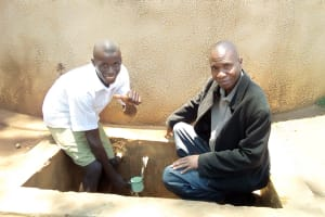The Water Project: Esibuye Primary School -  Thumbs Up For Reliable Water