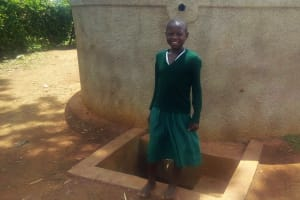 The Water Project: Emulakha Primary School -  Agnes Mbooni