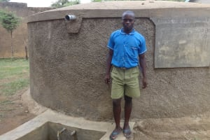 The Water Project: Malaha Primary School -  Kevin Lutomia