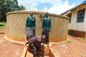 The Water Project: Tulon Secondary School -  Reliable Water