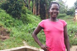 The Water Project: Shiamboko Community, Oluchinji Spring -  Betty Nambiro