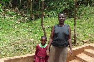 The Water Project: Lutonyi Community, Shihachi Spring -  Michelle Andeka And Violet Khamalishi