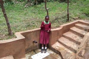 The Water Project: Lutonyi Community, Shihachi Spring -  Michelle Andeka