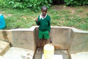 The Water Project: Handidi Community, Matunda Spring -  Samson Matunda