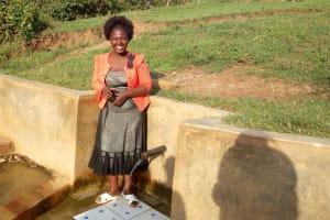 The Water Project: Ematiha Community, Ayubu Spring -  Velma Anjeche