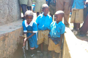 The Water Project: Eregi Mixed Primary School -  So Easy Even Young Children Can Use It