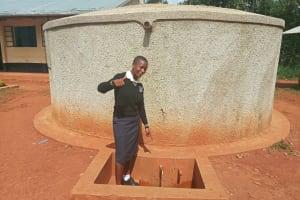The Water Project: Evojo Secondary School -  Cynthia Avusha
