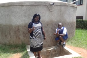 The Water Project: Matete Girls High School -  Karen Luseka And Edah Lutomia