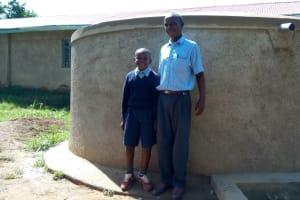 The Water Project: St. Antony Shijiko Primary School -  Churchill Imbenzi And Phillip Sunguti