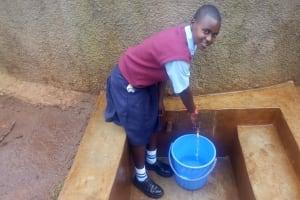 The Water Project: Ebubayi Secondary School -  Esther Minayo