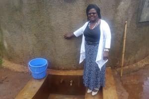 The Water Project: Ebubayi Secondary School -  Veronica Onacha