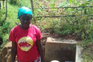 The Water Project: Ebuhando Community, Christopher Omasaba Spring -  Susan Ojwang