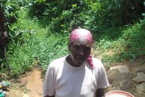 The Water Project: Lugango Community, Lugango Spring -  Margaret Lihanda