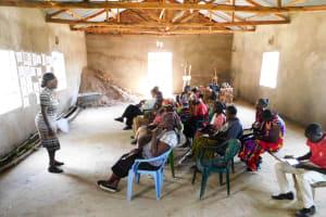 The Water Project: Bukhanga Community, Indangasi Spring -  Training