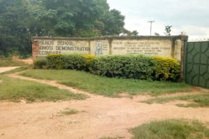 The Water Project: Kaimosi Demonstration Secondary School -  School Entrance