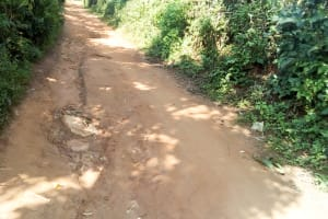 The Water Project: Ebubere Mixed Secondary School -  Road Leading To The School