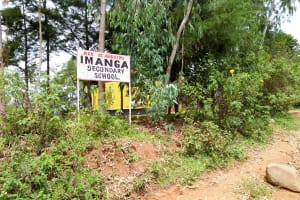 The Water Project: Imanga Secondary School -  School Entrance
