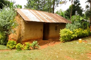 The Water Project: Emulakha Community, Nalianya Spring -  A Typical Home In The Community