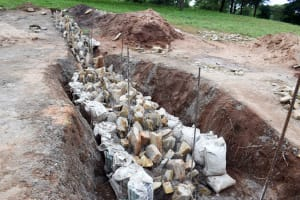 The Water Project: Uthunga Community -  Sand Dam Construction