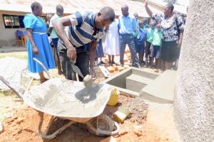 The Water Project: Mukunyuku RC Primary School -  Tank Care Training