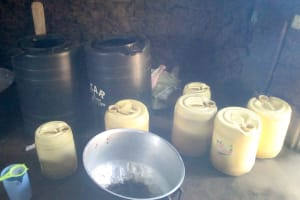 The Water Project: Ebubere Mixed Secondary School -  Water Storage