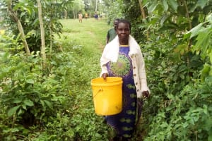 The Water Project: Musango Community, Ndalusia Spring -  Eldah Chiteli