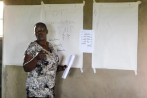 The Water Project: Bukhanga Community, Indangasi Spring -  Trainer Emma