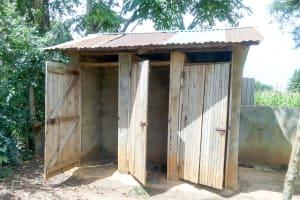 The Water Project: Majengo Primary School -  Latrines