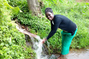 The Water Project: Bukhakunga Community, Khayati Spring -  Khayati Spring