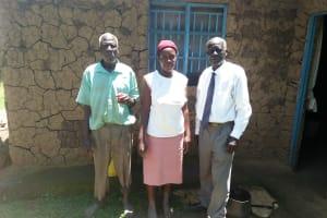 The Water Project: Mukoko Community, Mukoko Spring -  Meeting With Community Members