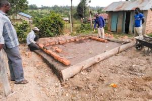 The Water Project: Sabane Primary School -  Latrine Construction