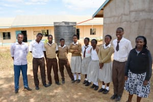 The Water Project: Kithoni Secondary School -  Student Health Club Members