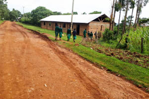 The Water Project: Bojonge Primary School -  Going To Fetch Water