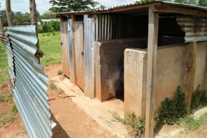 The Water Project: Imanga Secondary School -  Latrines