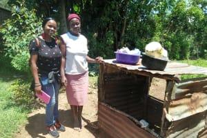 The Water Project: Mukoko Community, Mukoko Spring -  Field Officer Olivia Posing With Peninah