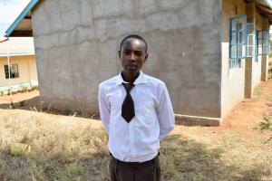 The Water Project: Kithoni Secondary School -  Martin Kioko