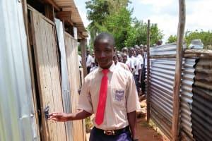 The Water Project: Imanga Secondary School -  Boys Latrines