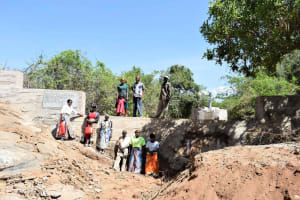 The Water Project: Karuli Community D -  Finished Sand Dam